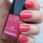 Лак Chanel #489 Rose Insolent