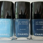 Лаки Les Jeans De Chanel: Coco Blue, Blue Rebel, Blue Boy