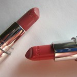 Помадная неделя: Clarins Joli Rouge #702 Rose sorbet, #705 Soft berry