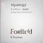 Маска для век P-effect sheet Hyalogy Forlle'd