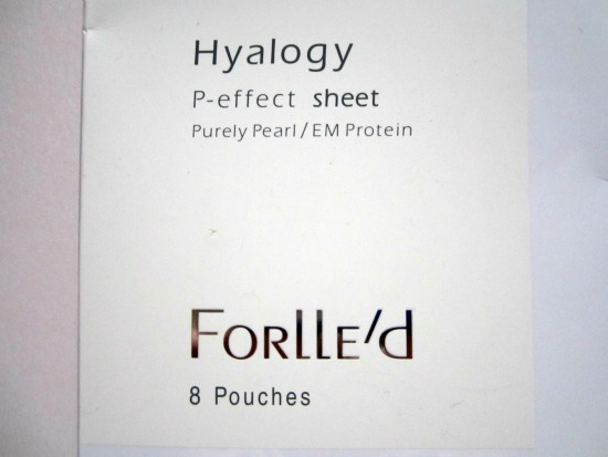 P-effect sheet Hyalogy Forlle'd