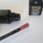 Помадная неделя: Chanel Rouge Allure Extrait de Gloss #68 TROUBLANT