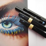 Тени Chanel STYLO EYESHADOW #57 Black Stream, #47 Blue Bay & тушь INIMITABLE...