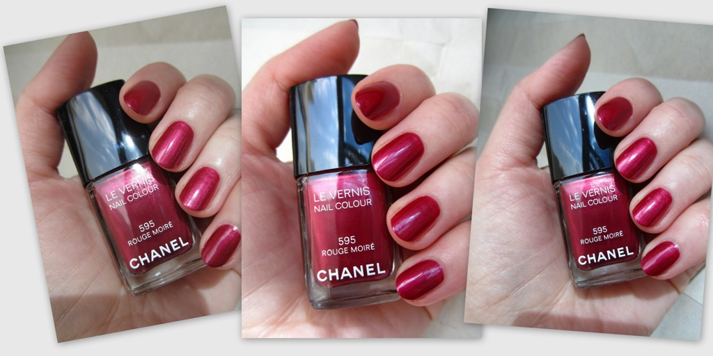 Chanel #595 Rouge Moiré (1)