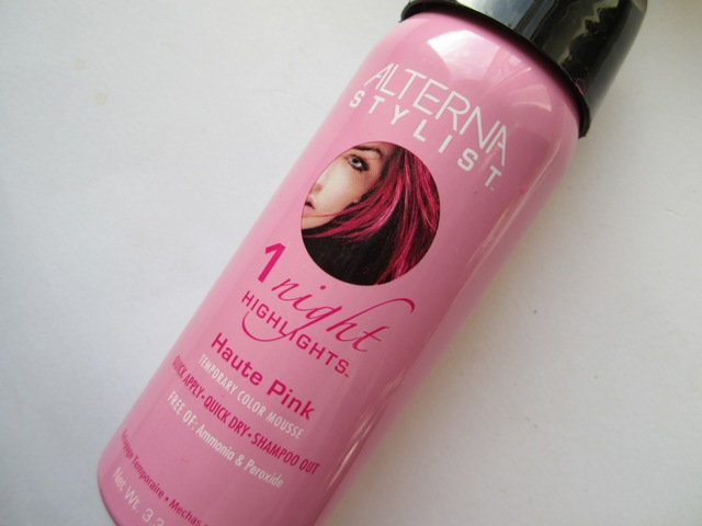 Alterna One Night Highlights Temporary Color Mousse_bella-shmella (1)