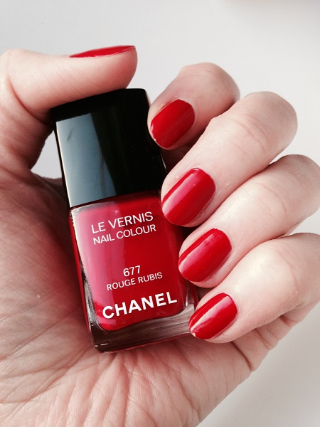 Chanel #677 Rouge Rubis (1)