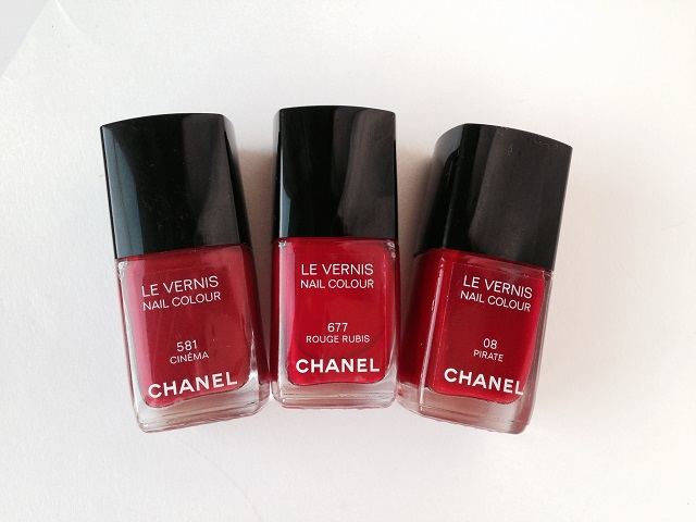 Chanel #677 Rouge Rubis (4)