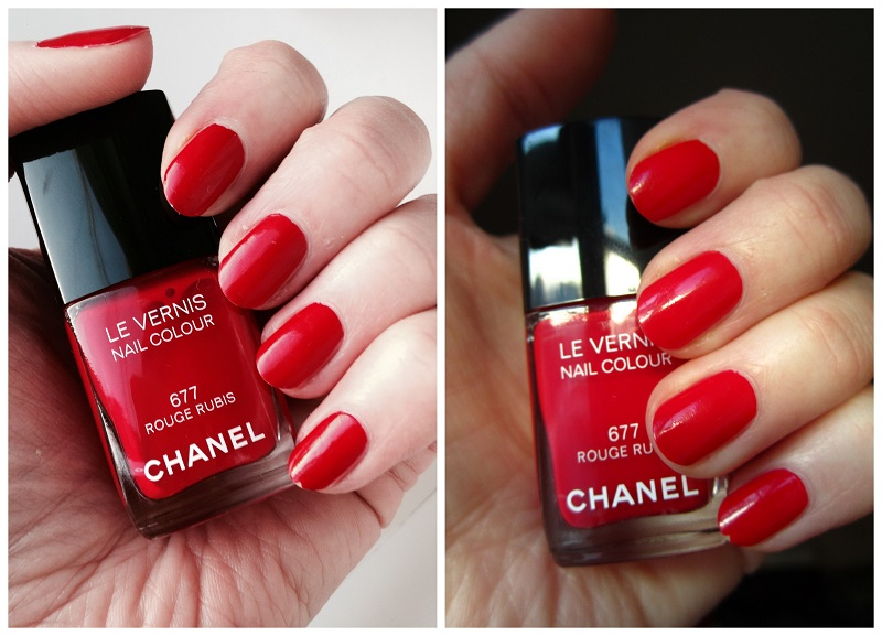 Chanel #677 Rouge Rubis (8)