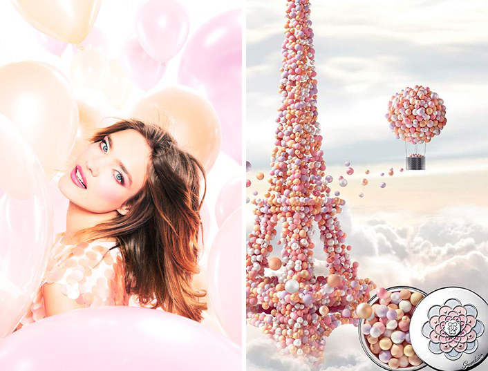 Guerlain-Meteorites-Blossom-Makeup-Collection-for-Spring-2014-promo-with-Natalia-Vodianova
