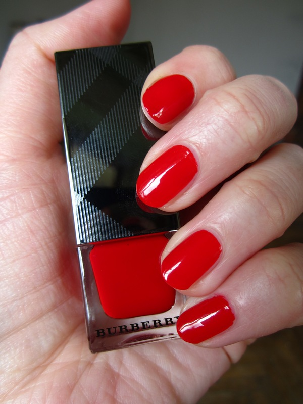 Burberry Nail Polish Poppy Red #301 (12)