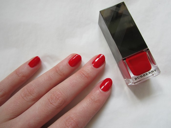Burberry Nail Polish Poppy Red #301 (7)
