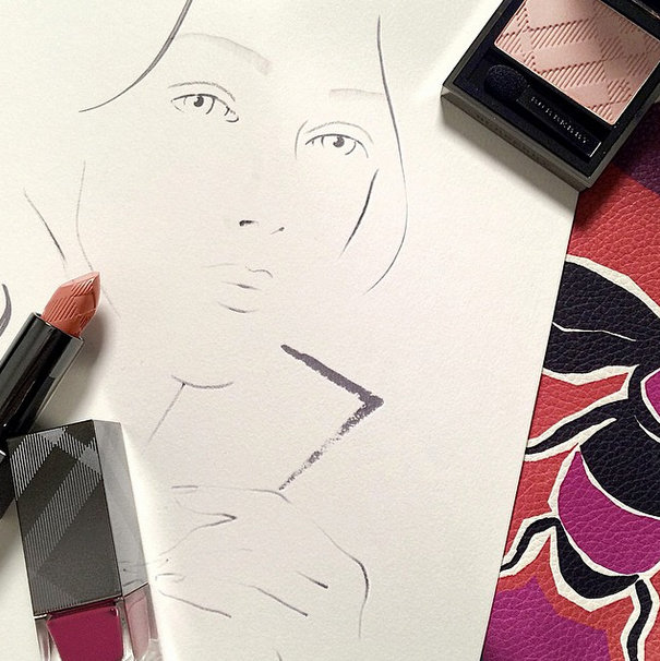 burberry beauty makeup spring 2015-6