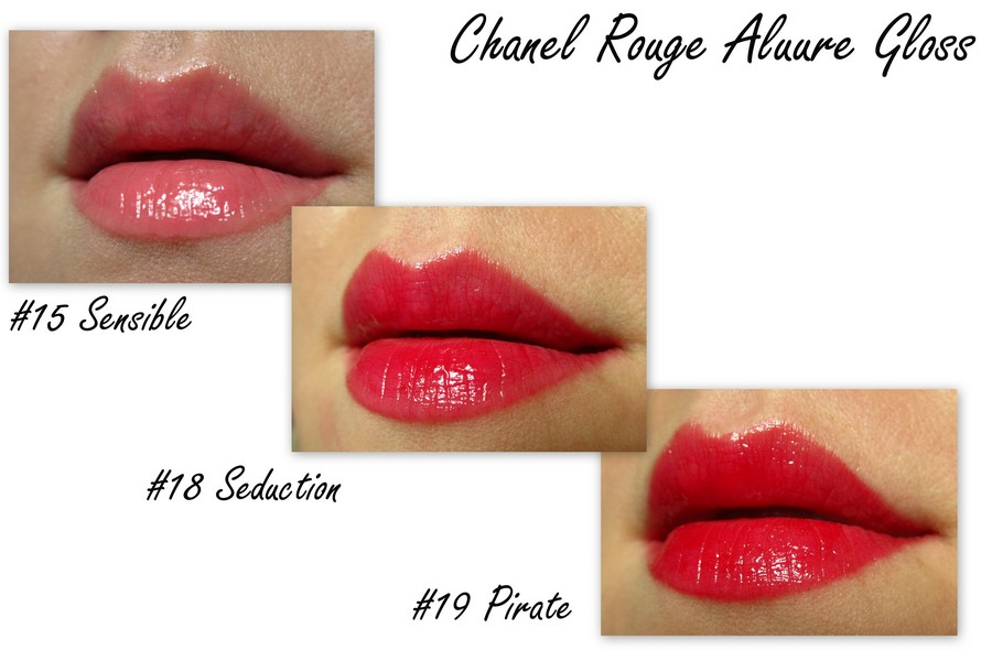 Chanel Rouge Allure Gloss ##15, 18, 19 (1)