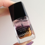 Лак Chanel Rouge Noir и топ Le Top Coat Lame Rouge Noir