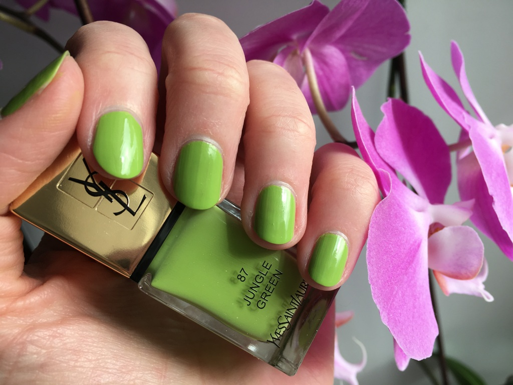 YSL #87 Jungle Green (2)